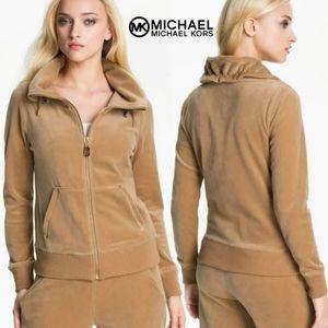 NWT Michael Michael Kors Velour Tracksuit Jacket